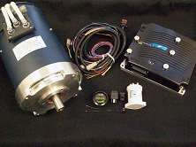 AC50 <br> 650A HPEVS AC-50 Motor <br> Complete AC EV Conversion Kit