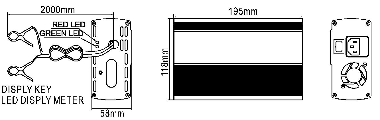 12V-12.8V-14.6V 20A Lithium Battery Intelligent Charger LFP ...