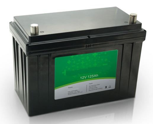 12v 125ah Ev Lifepo4 Lithium Battery Pack