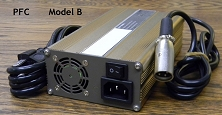 300 Watts <br> 24V 8A, 48V 5A <br> Model B <br> Lithium or Lead-Acid Intelligent Battery Charger