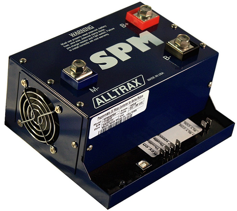Dc Motor Controller Alltrax Spm Series 200 650a 24 72v Ev Programmable Direct Replacement For