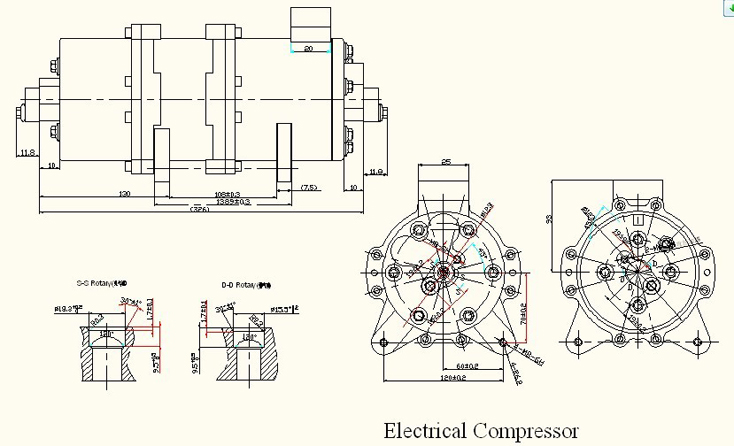 dc air conditioner compressor and controller 48