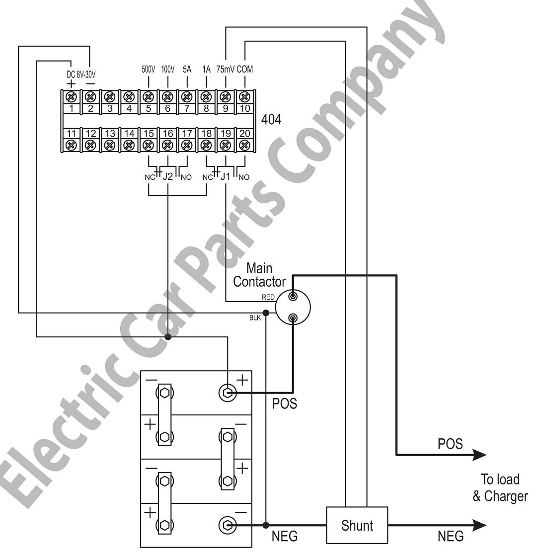 Intelligent Digital Ammeter Voltmeter : Ecpc ammeter intelligent digital ev jld battery pack