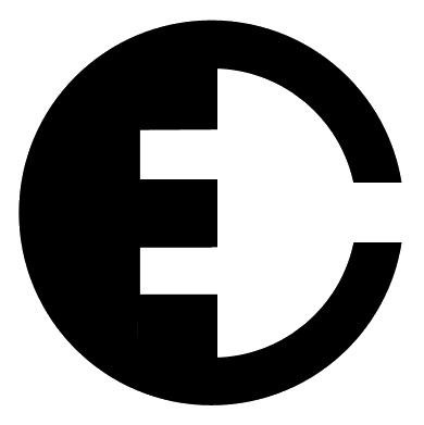 Electric Car Parts Company Logo