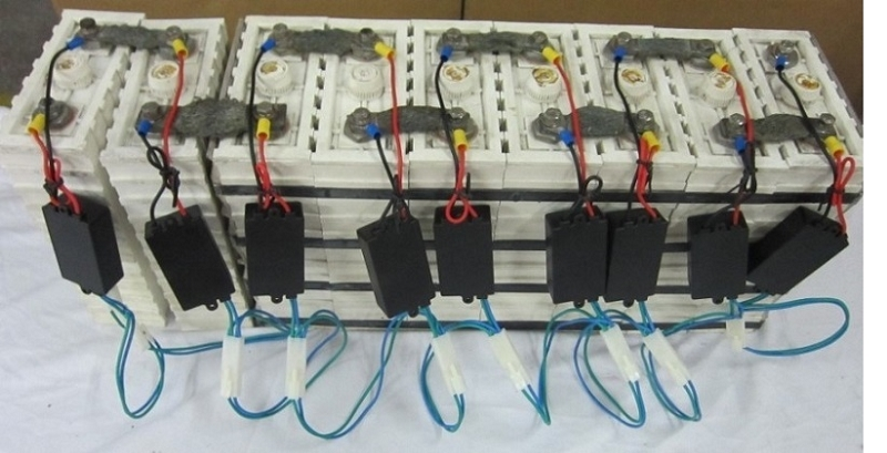 Connected Lifepo Limn O Batteryvoltagebalancerbatteryvoltagebalancer on Lipo Batteries In Series 4