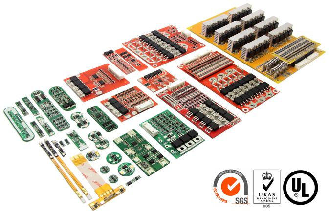 48V 51 2V 57 6V PCB PCM 16 Cell Battery Series 10A 150A