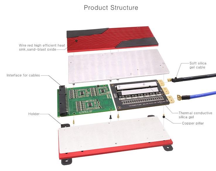 Bms Battery Management System 24v 100a