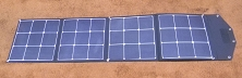 120 Watts 12V <br> 18.56V Max Power Voltage <br> Folding Solar Panel Kit