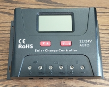 12V or 24V 60A PWM<br>For Lithium or Lead Acid Battery Packs<br>Solar Charge Controller