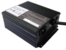 600 Watts<br>12V 20A, 12V 25A, 12V 30A,<br>24V 15A, 24V 16A, 24V 18A,<br>24V 20A, 36V 12A, 36V 15A,<br>48V 8A, 48V 10A, 60V 8A, 72V 7A<br>Model D-1<br>Lithium or Lead-Acid Intelligent Battery Charger