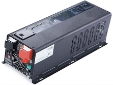 <b>1000 Watts 1kW</b> Pure Sine Wave<br>Inverter/Charge Controller<br>12V or 24V DC Input<br>120V/240VAC 50Hz 60Hz Output<br>DC to AC Power<br>Lithium or Lead Acid Batteries