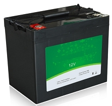 640 Watts 12V 50Ah <br> EV LiFePO4 Lithium Battery Pack <br> 7.7 * 6.5 * 6.8 in. <br> 197 * 165 * 174 mm <br> 15.4 Lbs. / 7.0 Kg <br> Can be connected in series up to 48 volts.