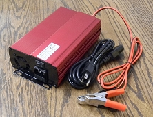 24V-25.6V-29.2V 10A<br>Lithium Battery Charger LiFePO4<br>CE Certified USA Stock!