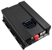 <b>8000 Watts 8KW</b><br>Pure Sine Wave Inverter<br>Both 48V DC Input or<br>95V-127V or 164V-243V AC Inputs<br>120V/240VAC 50Hz 60Hz Output<br>DC to AC Power Solar<br>Lithium or Lead Acid Batteries<br>Has NOT Yet Received UL Approval