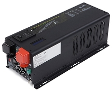 <b>4000 Watts 4kW</b> Pure Sine Wave<br>Inverter/Charge Controller DC to AC Power