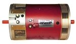 WarP 11 EV DC Motor <br> 72-156V, 453A <br> Double ended shaft - advanced timing, .875