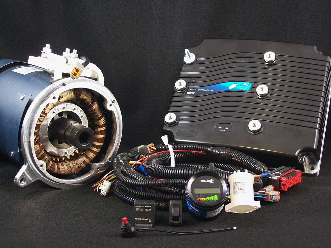 ac 50 ac 51 ac 5x hpevs ev ac motor kit 96v 650a on sale