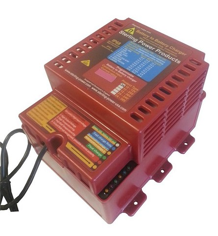 Battery to Battery Charger<br>12V Input to 12V Output 60 Amps or 120 Amps