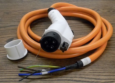 J1772 Plugs with Cable - USA Stock! <br> Level 1 <br> 15A / 16A <br> 120V-240V