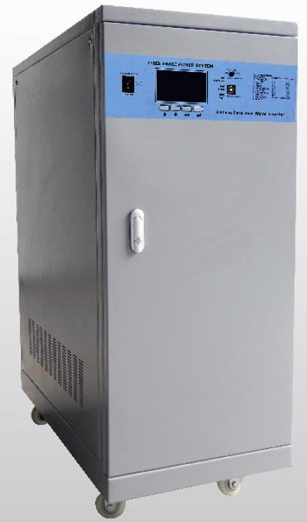 <b>12,000 Watts 12kW</b> Energy Storage Package<br>Pure Sine Wave<br>Inverter and Charge Controller<br>3-Phase Off Grid<br>Works With Lithium or Lead Acid Batteries<br>Not UL Approved