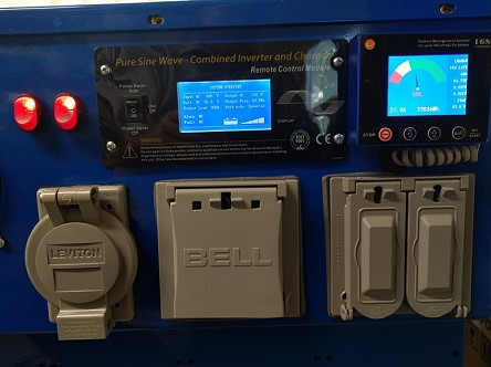 PortaPower 24V 20 KWH<br>Battery Storage System