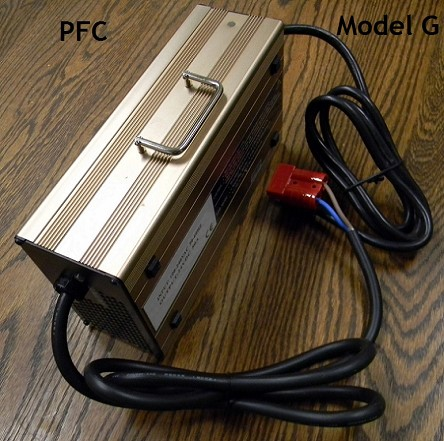 1.8kW 12V-24V-36V-48V-60V-72V-96V-120V-144V-360V<br>Model G Lithium Battery Charger