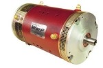 WarP 9 EV DC Motor <br> 72-156V, 500A <br> Double ended shaft - advanced timing, .875
