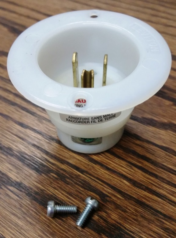 Electrical Fill Receptacle Plug And Socket Flanged 120