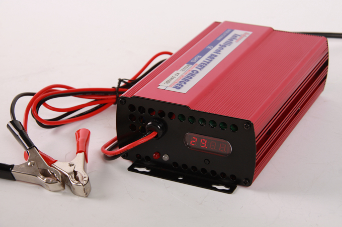 Lithium Battery Intelligent Chargers on 120v 5a Fuse
