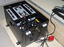 2560 Watts 12V 200Ah<br>EV Lithium Battery Pack<br>20.4 * 10.6 * 8.6 in.<br>73.3 Lbs.<h3>$2,030 - FOB Utah</h3>