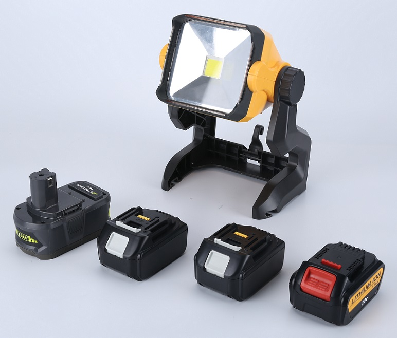 18w 2800 Lumens Tool Battery Powered Light On Sale Best
