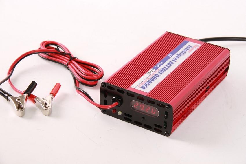 36V-38.4V-43.8V 5A Lithium Battery Intelligent Charger LFP LiFePO4 Intelligent Charger