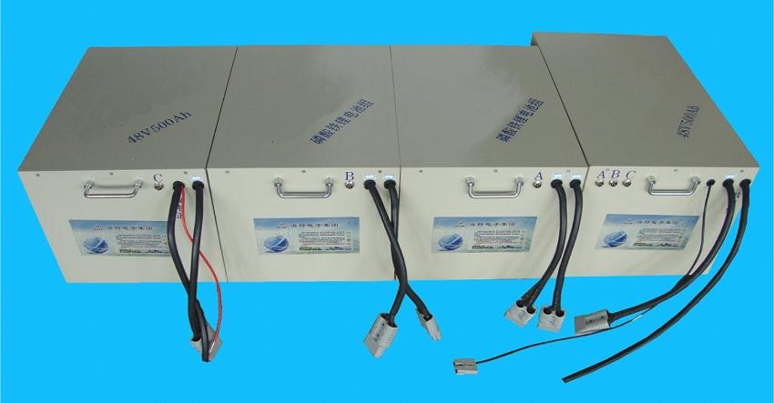 48V, 500Ah eTech LiFePO4 Lithium Battery Pack