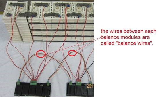Balance Wires - Specification of Battery Balancer