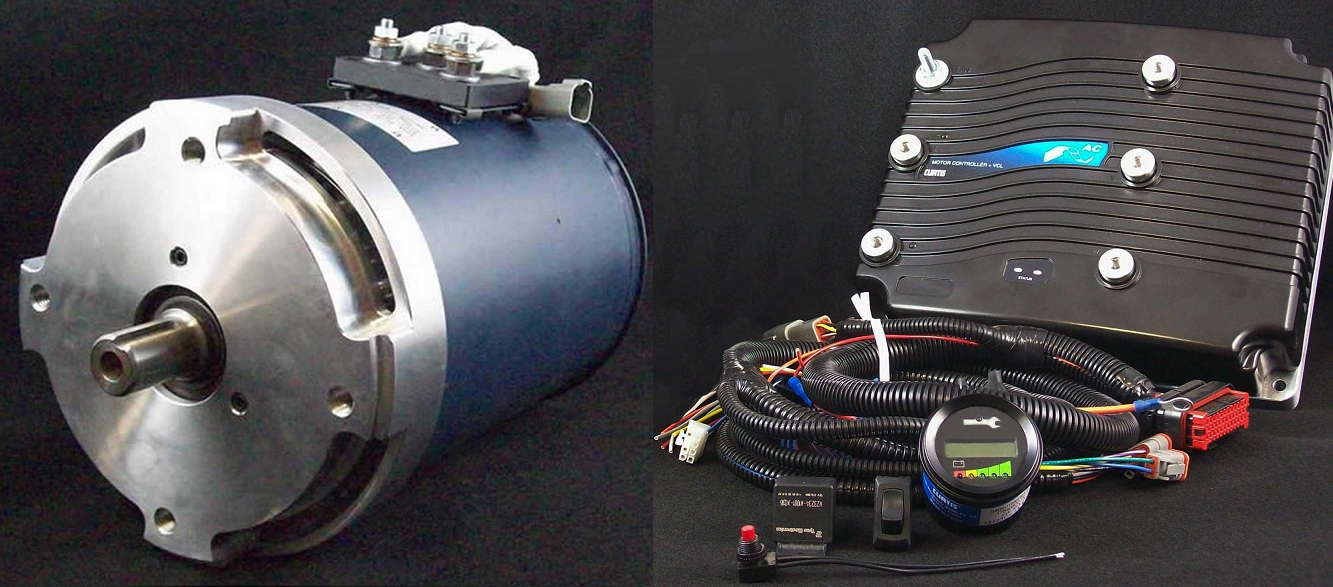 Hpevs Ac Motor Kits Guaranteed Lowest Prices 9 12 15 20 35 02 01 50 With Curtis Controller