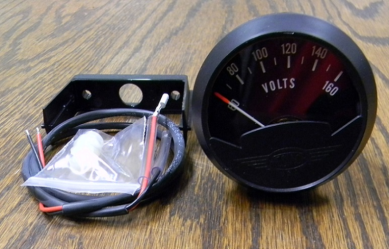 Classic Style Gauge Panel 60 160 Vdc Voltmeter