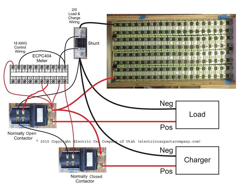 ECPC404 Ammeter Intelligent Digital EV JLD404 Battery Pack