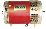 ImPulse 9 EV DC Motor <br> 72-156V, 400A <br> Double ended shaft - advanced timing, 1.125