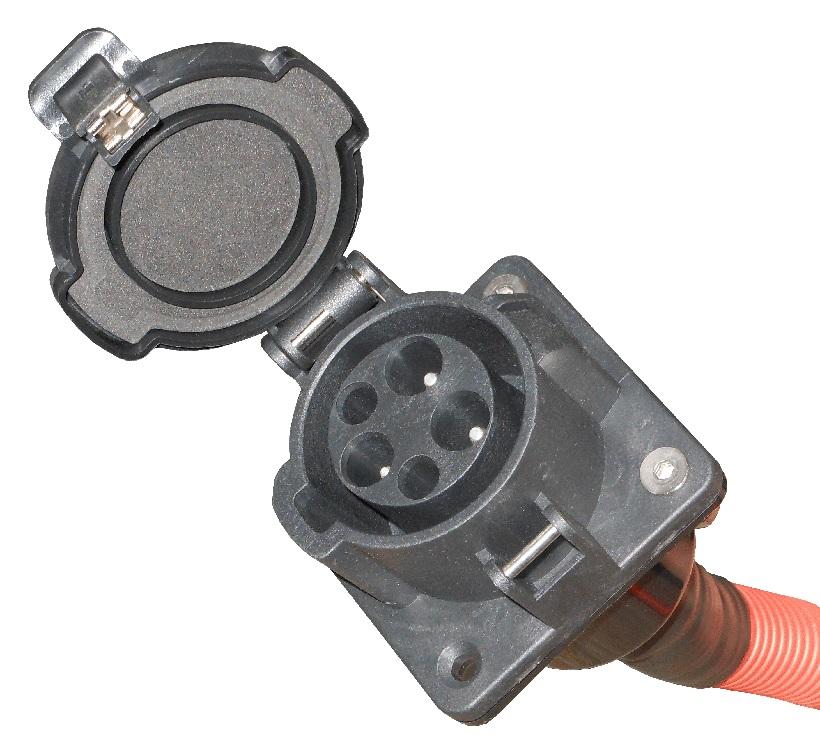 30a 32a, j1772 custom build socket inlet 32amp j1772 socket inlet