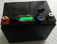 12V 35Ah Lithium-ion<br>LiFePO4 Battery Pack<br>10.3 Lbs.<br>7.6 * 6.2 * 5.1 in.