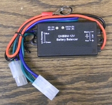 12V Battery Voltage-Amperage Balancers for 12V Lithium or Lead Acid Batteries