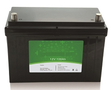 1280 Watts 1.28kW 12V 100Ah <br> EV LiFePO4 Lithium Battery Pack <br> Can be connected in series up to 48 volts.