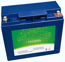 256 Watts 12V 20Ah <br> EV LiFePO4 Lithium Battery Pack <br> 7.1 * 3.0 * 6.5 in <br> 180 * 76 * 166 mm <br> 6.6 Lbs. / 3.0 Kg <br> Can be connected in series up to 48 volts
