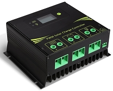 12V, 24V, 36V, 48V 45A PWM<br>For Lithium Battery Packs<br>Solar Charge Controller