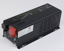 <b>1500 Watts 1.5kW</b> Pure Sine Wave<br>Inverter/Charge Controller DC to AC Power