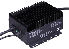 1kW 24V 25A, 48V 15A 120VAC/240VAC Input<br>Lithium or Lead Acid Battery Charger
