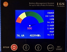 BMS (Battery Management System)<br>For Up to 48 Volt Lithium Battery Packs