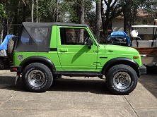 ELECTRIC SUZUKI SAMURAI <br> Conversion Pictures