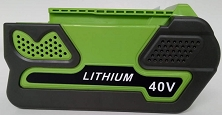 Replacement for <h2>Greenworks</h2>40V 3Ah, 4Ah or 5Ah or 80V<br>Lithium Battery Pack