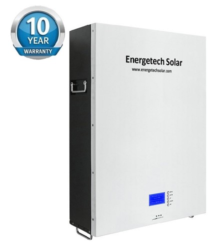 10KWh 51.2V 200Ah LiFePO4 Lithium Battery Solar Energy Storage System with Low Temperature Protection